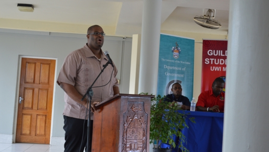 2014-02-26 NIA Participates in the UWI's Governance Society Forum