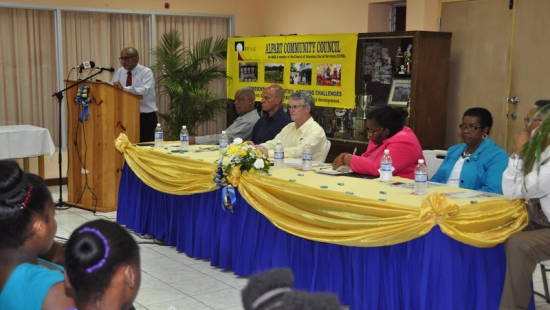 2014-08-22 Address to the Alpart Community Council - St Elizabeth