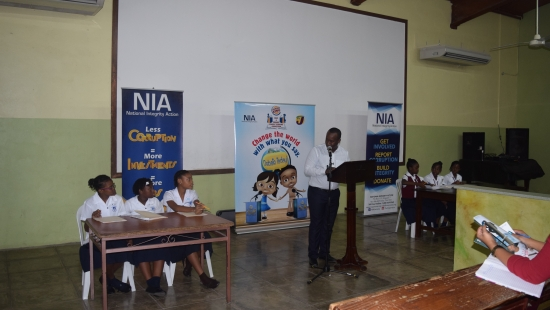2016 Burger King Prep and Primary Debating Competition