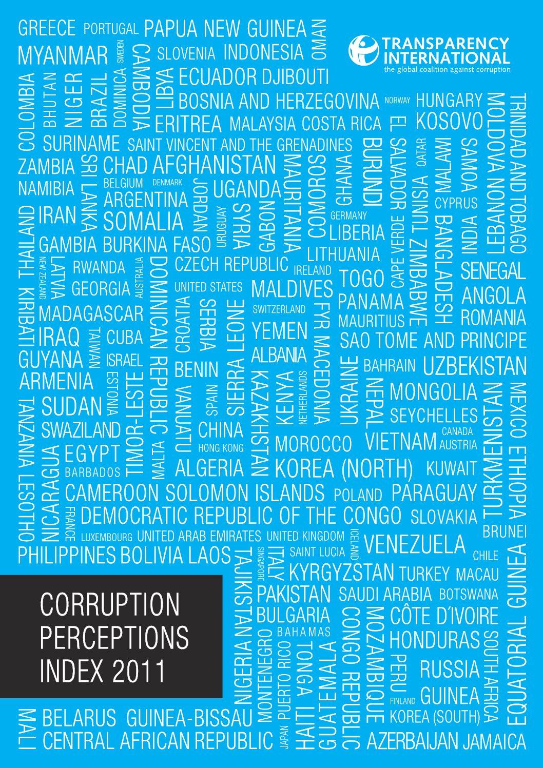 Corruption Perception Index 2011