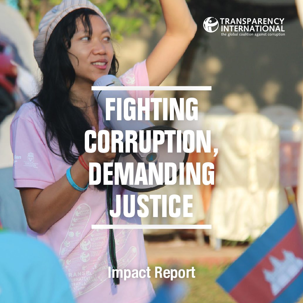 Impact Report – Fighting Corruption, Demanding Justice – 2015