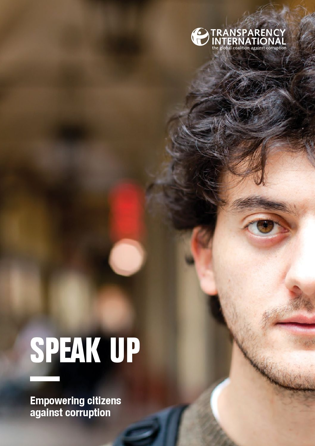 Speak Up – Empowering Citizens Against Corruption – 2015