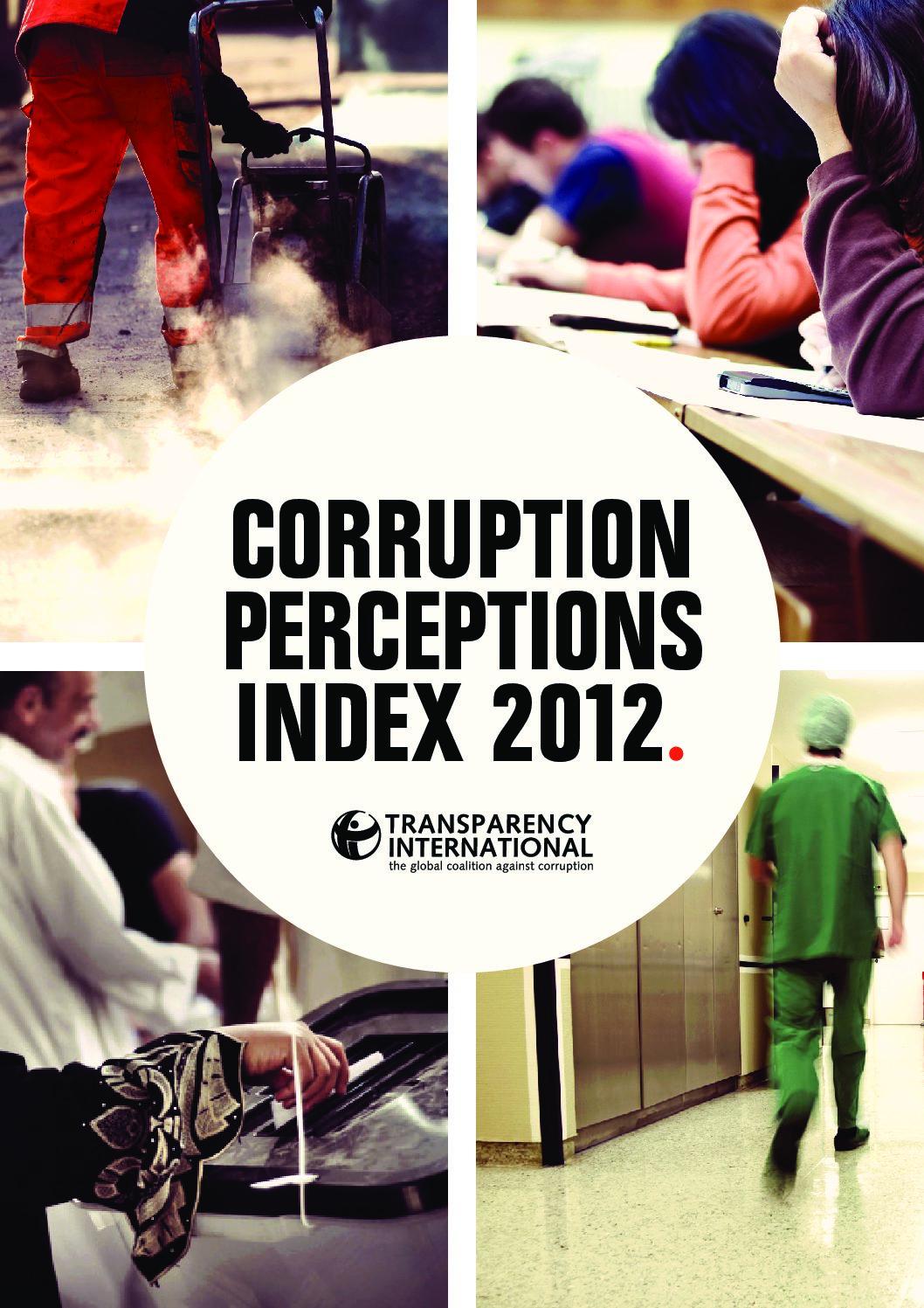 Corruption Perception Index 2012