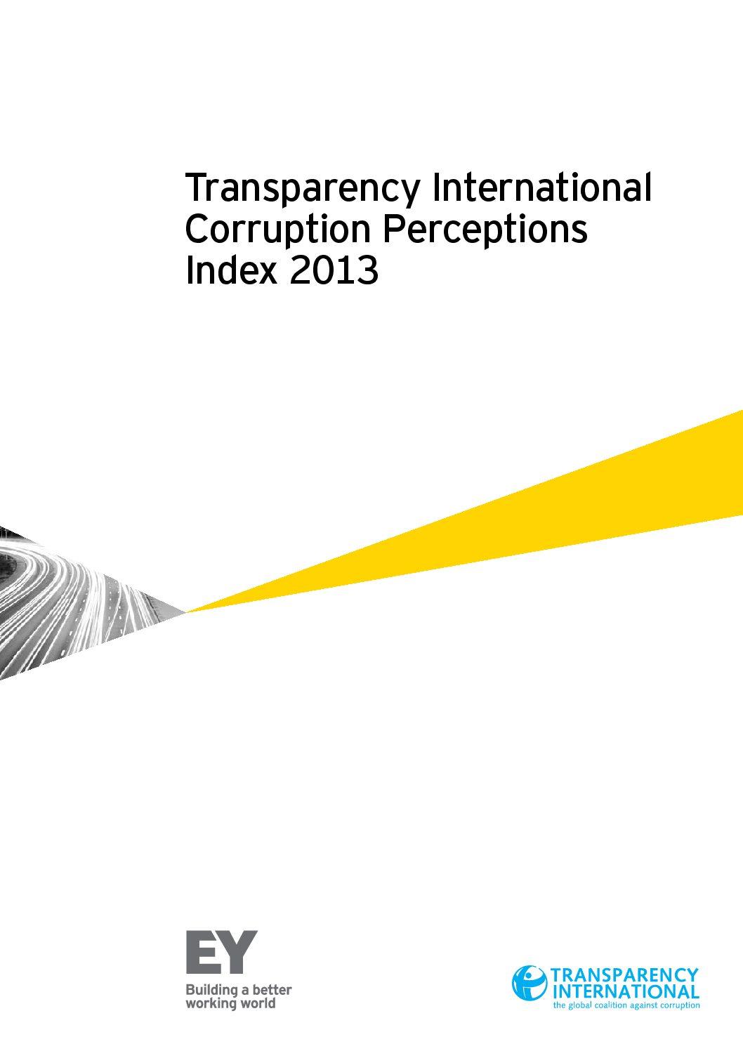 Corruption Perception Index 2013