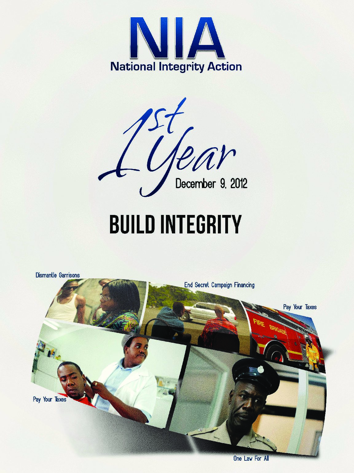 NIA 1st Year Gleaner Supplement