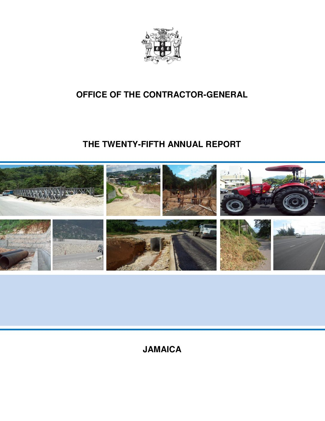 Office of the Contractor General Annual Report 2011