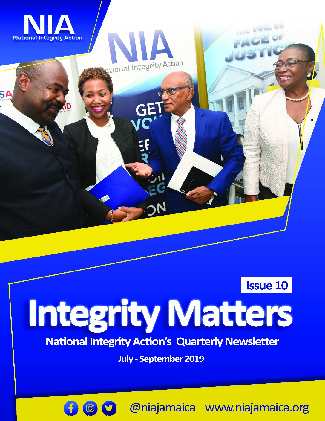 NIA's Quarterly Newsletter-Integrity Matters Issue 10
